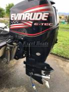Evinrude. 225,00л.с., 2х тактный, бензин, нога L (508 мм), Год: 2006 год