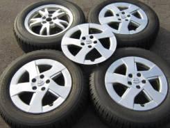 Комплект литых колес Toyota Prius R-15 с зимней резиной 195/65. 6.0x15 5x100.00 ET45 ЦО 60,0мм.