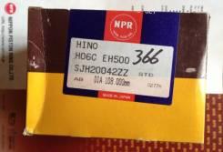 Кольца поршневые. Hino Dutro Двигатели: H06C, EH500