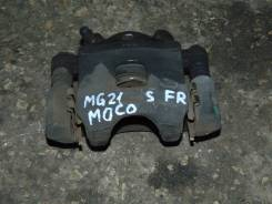 Суппорт тормозной. Nissan Moco, MG21S Двигатель K6A
