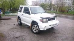 Mitsubishi Pajero iO. автомат, 4wd, 1.8 (130 000 л.с.), бензин, 198 000 тыс. км
