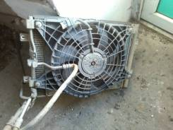 Вентилятор радиатора кондиционера. Kia Bongo