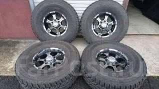 Продаю комплект шикарных колес LT315/75R16 на литье 16(6*139.7). 8.0x16 6x139.70 ET0