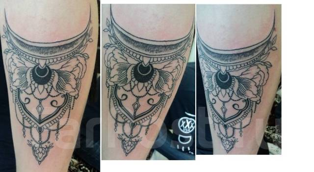 Татуировки.