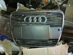 Решетка радиатора. Audi S6, 4F2 Audi A6, 4F2/C6, 4F2, C6, 4F5 Двигатели: BVN, BPJ, BRF, BVJ, AUK, BLB, BDW, BPP, BKH, BBJ, BXA, BYK, BVG, ASB, BNG, BS...