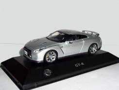 Nissan GTR (R35) LHD 2008 J-collection 1:43 Ниссан ГТР серебр. (+вар. ц)