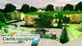 1-комнатная, Светлогорская 81. 9км, застройщик, 41 кв.м.