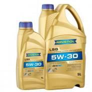 Масло моторное синтетическое Ravenol LSG SAE 5W30, 5 литров Артикул 62545