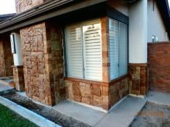 Декоративная отделка фасадов, цоколей, ростверков.