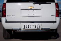 Защита бампера. Chevrolet Tahoe, GMT, 900 Двигатель LY5. Под заказ