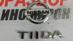 Эмблема Nissan Tiida (C11)