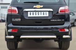 Защита бампера. Chevrolet TrailBlazer, 31UX Двигатели: LWH, LY7. Под заказ