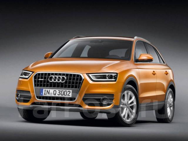 Стекло фары. Audi Q3. Под заказ
