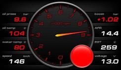 Дополнительные приборы (виртуальная приборка). Subaru: Impreza WRX, Forester, Impreza WRX STI, Legacy, Legacy B4 Toyota Chaser Toyota Mark II Toyota C...