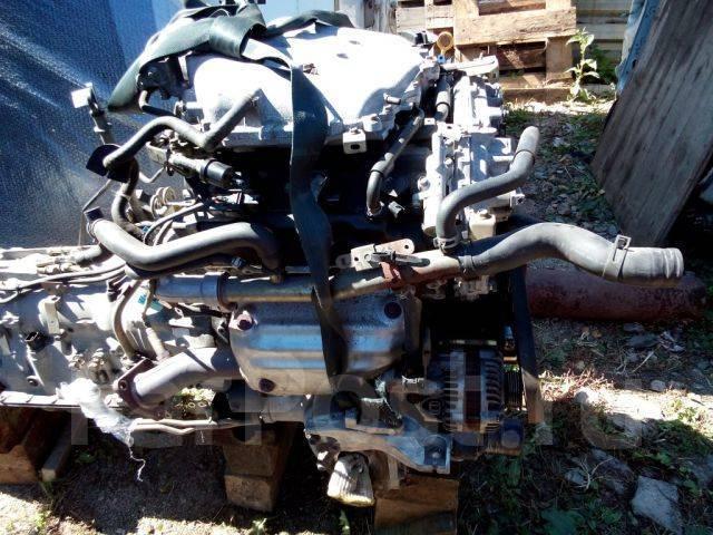 Контрактный (б у) двигатель Ниссан VQ35-DE (VQ35DE) 3,5 л бензин, инже