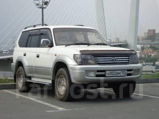 Toyota Land Cruiser Prado. автомат, 4wd, 2.7 (150 л.с.), бензин, 156 тыс. км