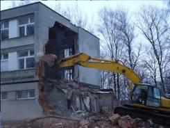 Снос, демонтаж строений.