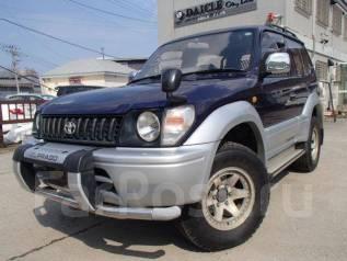 Toyota Land Cruiser Prado. механика, 4wd, 3.0, дизель, 112 тыс. км, б/п, нет птс. Под заказ