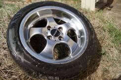 """15"""" 7.0"""" 4*100 Work Nezart с резиной Bridgestone MY-01 (бу 1.5 года). 7.0x15 4x100.00 ET35"""