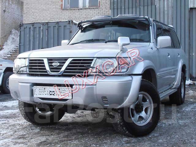 Купить козырёк лобового стекла (Дефлектор) Nissan Patrol / Safari