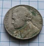 5 центов 1978 года. В наличии!