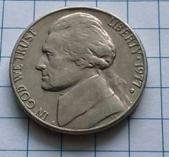 5 центов 1977 года. Америка