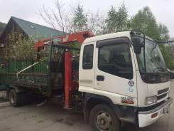 Бортовой грузовик с манипулятором, эвакуатор борт 5т кран 3т