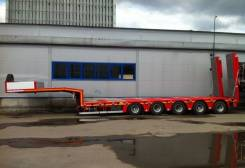 Kassbohrer. Низкорамный трал LB5E 74 т., 74 000 кг.