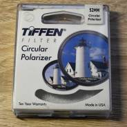 Фильтр Tiffen Circular Polarizer 52mm. диаметр 52 мм