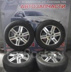 Комплект летних колес на литье Honda CRV R16 с резиной 205/65R16. 6.0x16 5x114.30