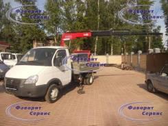 ГАЗ 3302. Новый бортовой ГАЗ-3302 с краном-манипулятором, 2т, Fassi (Италия), 2 200 куб. см., 2 000 кг.