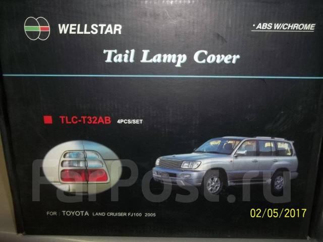 Накладка на стоп-сигнал. Toyota Land Cruiser