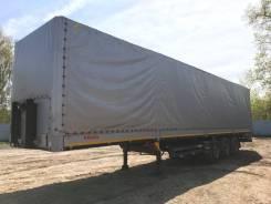 Kogel SN24. Полуприцеп шторно-бортовой 2013 год, 28 460 кг.