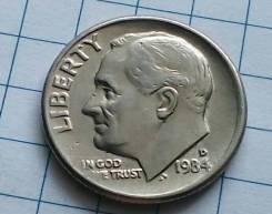 10 центов 1984 года. В наличии!