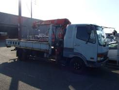 Mitsubishi Fuso Fighter. 1998 БП КМУ UNIC340 3вылета, 8 000 куб. см., 5 000 кг.