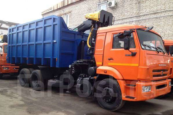 Майман-110S. Ломовоз КамАЗ-65115-773094-42 кузов 30 куб., , захват ГЛ-1У, 100 куб. см., 11 000 кг.