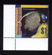 Юнион Гренадины Ст. Винсента 2003.12.01 Mi323 рыбы