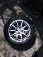 Продам комплект колес на литых дисках R-14, резина кама евро. б/у 4 шт