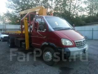 ГАЗ 3310. Продажа Валдай эвакуатор с КМУ, 87 куб. см., 3 500 кг.