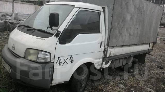 Mazda Bongo. Mazda bogo 4wd, 1 800 куб. см., 1 250 кг.