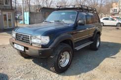 Toyota Land Cruiser. механика, 4wd, 4.2 (130 л.с.), дизель, 220 000 тыс. км