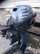 Yamaha. 15,00л.с., 4х тактный, бензин, нога L (508 мм), Год: 2014 год