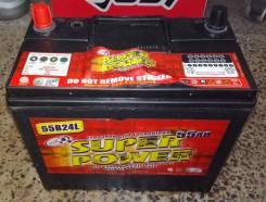Super Power. 55А.ч., Обратная (левое), производство США