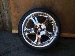 Продаются колеса, диски хром разборные (4 отверстия). x17