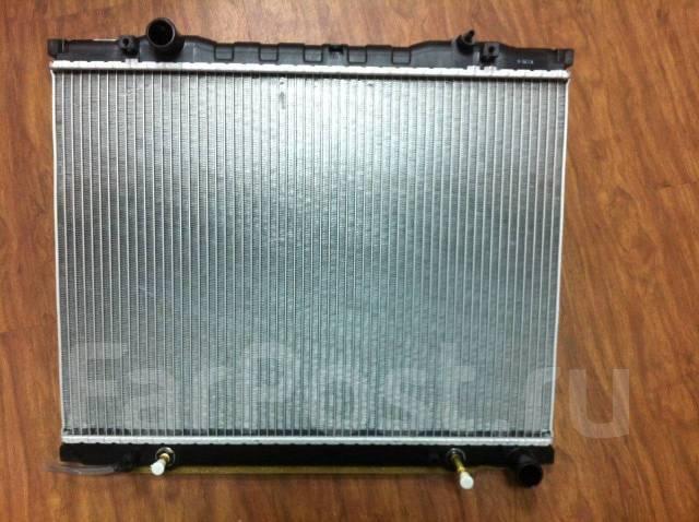 Радиатор охлаждения двигателя. Kia Sorento Двигатель D4CB