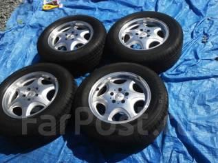 Колеса Mercedes на летней резине 235/60 R16. 7.5x16 5x112.00 ET37 ЦО 60,0мм.