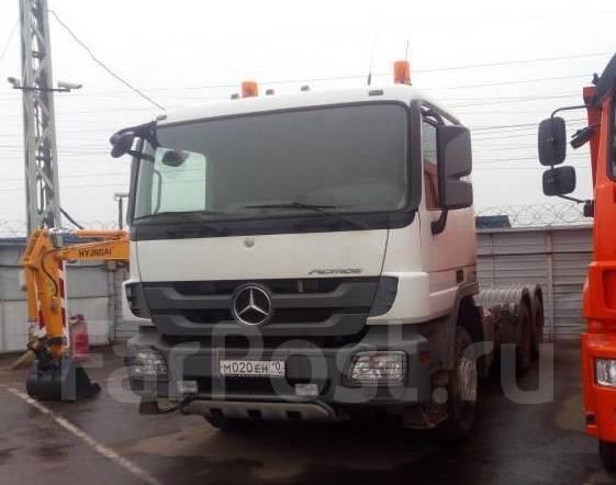 Mercedes-Benz Actros. Продаю тягач Mercedes-BENZ Actros 3341S 6Х4 бу (2013 г., 320 000 км. ), 12 700 куб. см., 16 000 кг.