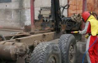 Пескоструйка. Пескоструйные работы с выездом. Владивосток