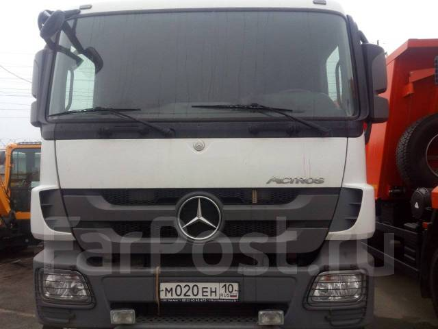 Mercedes-Benz Actros. Mercedes-BENZ Actros 3341S 6Х4 бу (2013 г., 320 000 км. ), 12 000 куб. см., 23 523 кг.