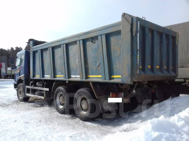 FAW CA3252. FAW CA 3252, 8 600 куб. см., 22 000 кг.